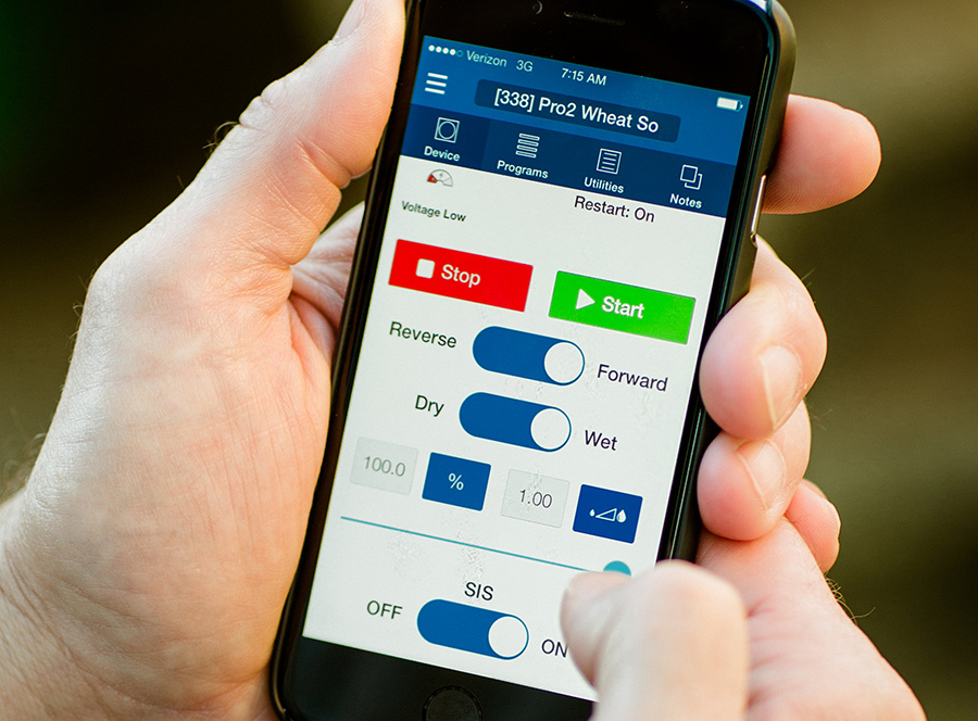 Phone showing BaseStation Technology