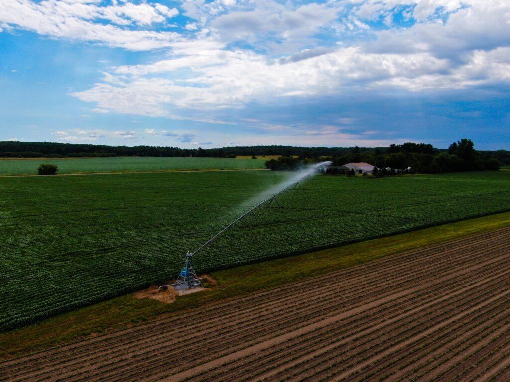 North Central Irrigation Center Pivot